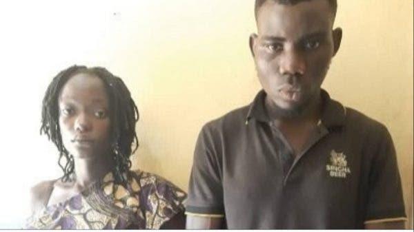 Couple arrested for assaulting husband's ex girlfriend in Ogun[Full Detail]