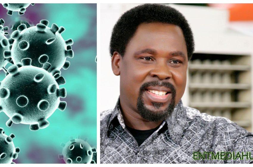Prophet TB Joshua reportedly heals a COVID-19 patient