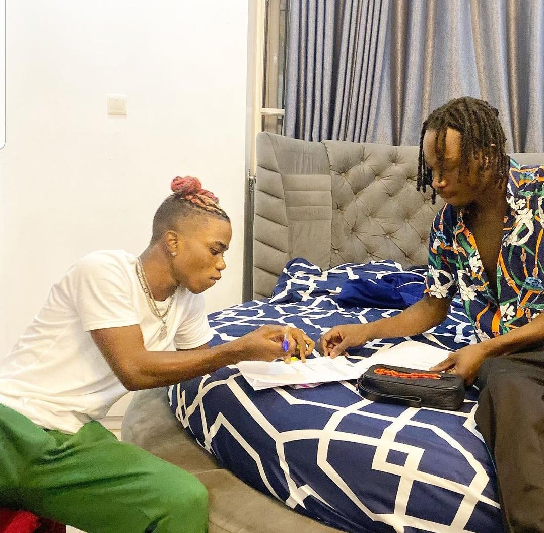 Naira Marley sign Lyta
