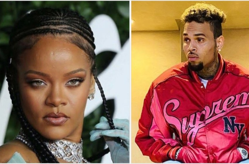 Rihanna reconciles with Chris Brown