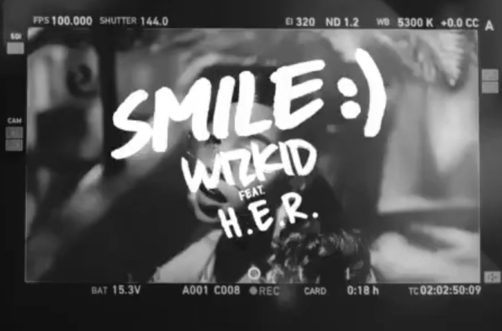 VIDEO: Wizkid Ft H.E.R – Smile