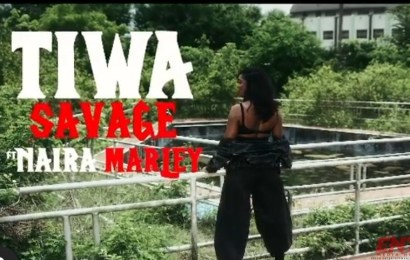 VIDEO : Tiwa Savage ft. Naira Marley - Ole