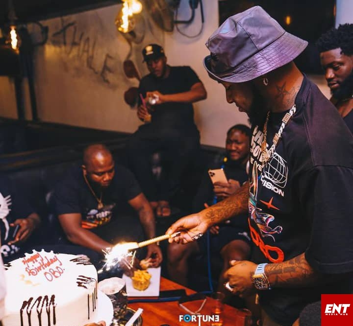 Pictures from Davido birthday