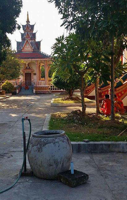 cistern in Laos