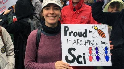 March for Science - Andrea Lucky