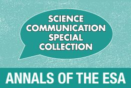 Annals of the ESA: Science Communication Collection
