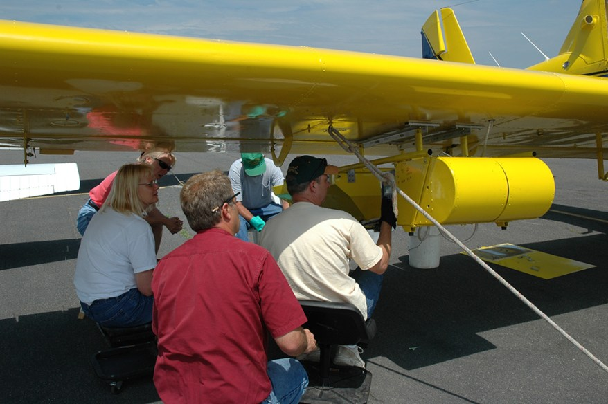 slow the spread team - aircraft calibration