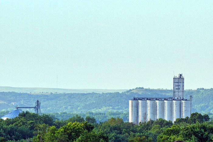 stored product facility near Manhattan Kansas