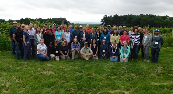invasive species field tour group