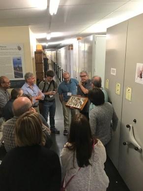 tour at Academy of Natural Sciencies