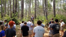 Dave Coyle teaching Clemson Forest Health