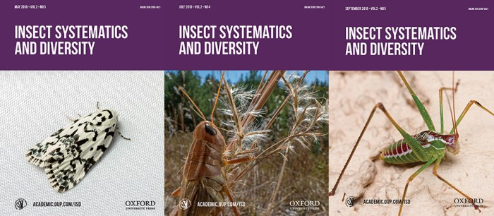 Insect Systematics and Diversity covers