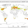 potential global distribution of spotted lanternfly