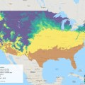 Apple maggot Pheno Forecast map, July 1, 2019