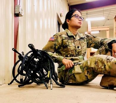 Angelita Acebes Army Reserve