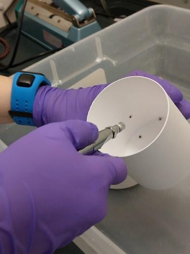 acaricide spray lab test