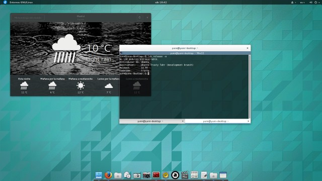 Ubuntu GNOME Trusty Tahr Final