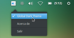 Popupmenu Change Dark Indicator
