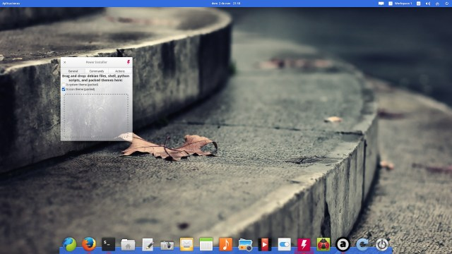 Power Installer 0.1 en elementary OS Freya