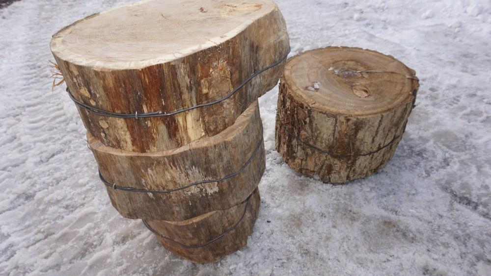 キンクラ 薪割り台