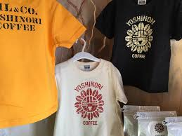 Yoshinori coffee Tシャツ