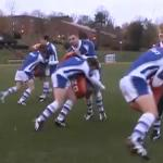 Exercice entrainement defense rugby
