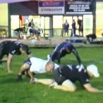 entrainement rugby