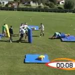 Plaquage rugby exercice