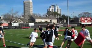 exercice rugby continuite