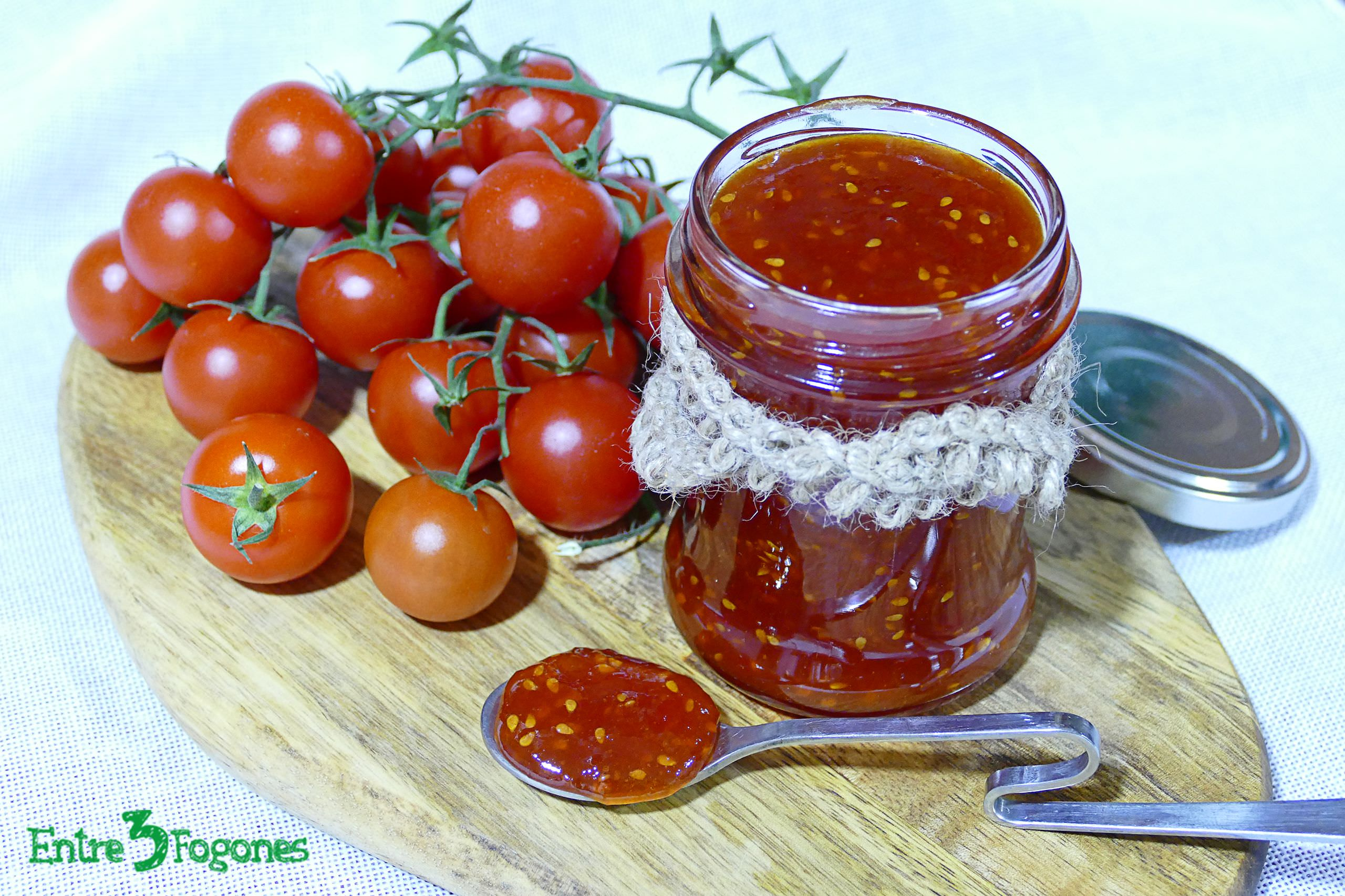 Photo of Mermelada de Tomate Cherry Casera