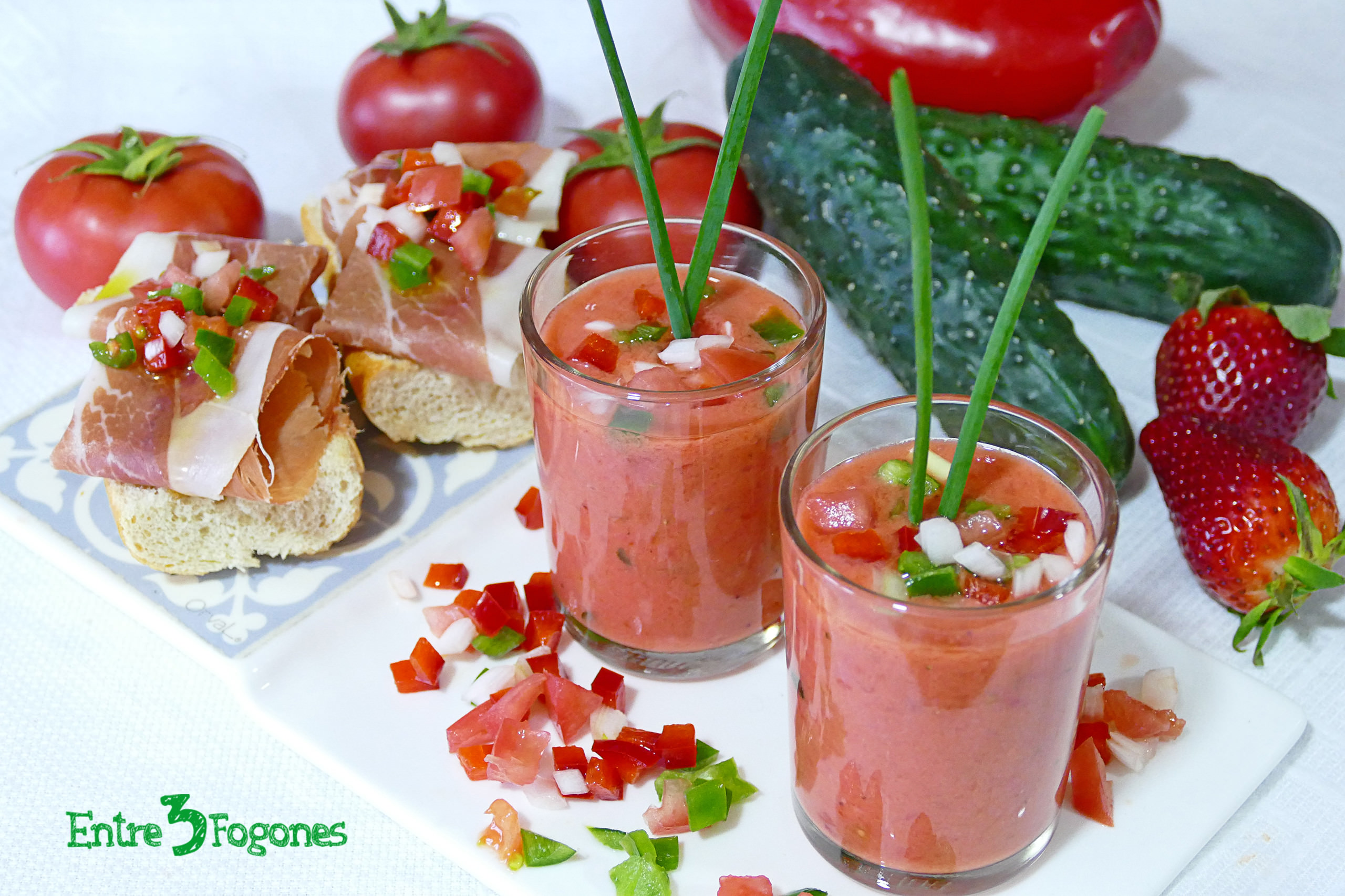 Photo of Gazpacho de Fresas