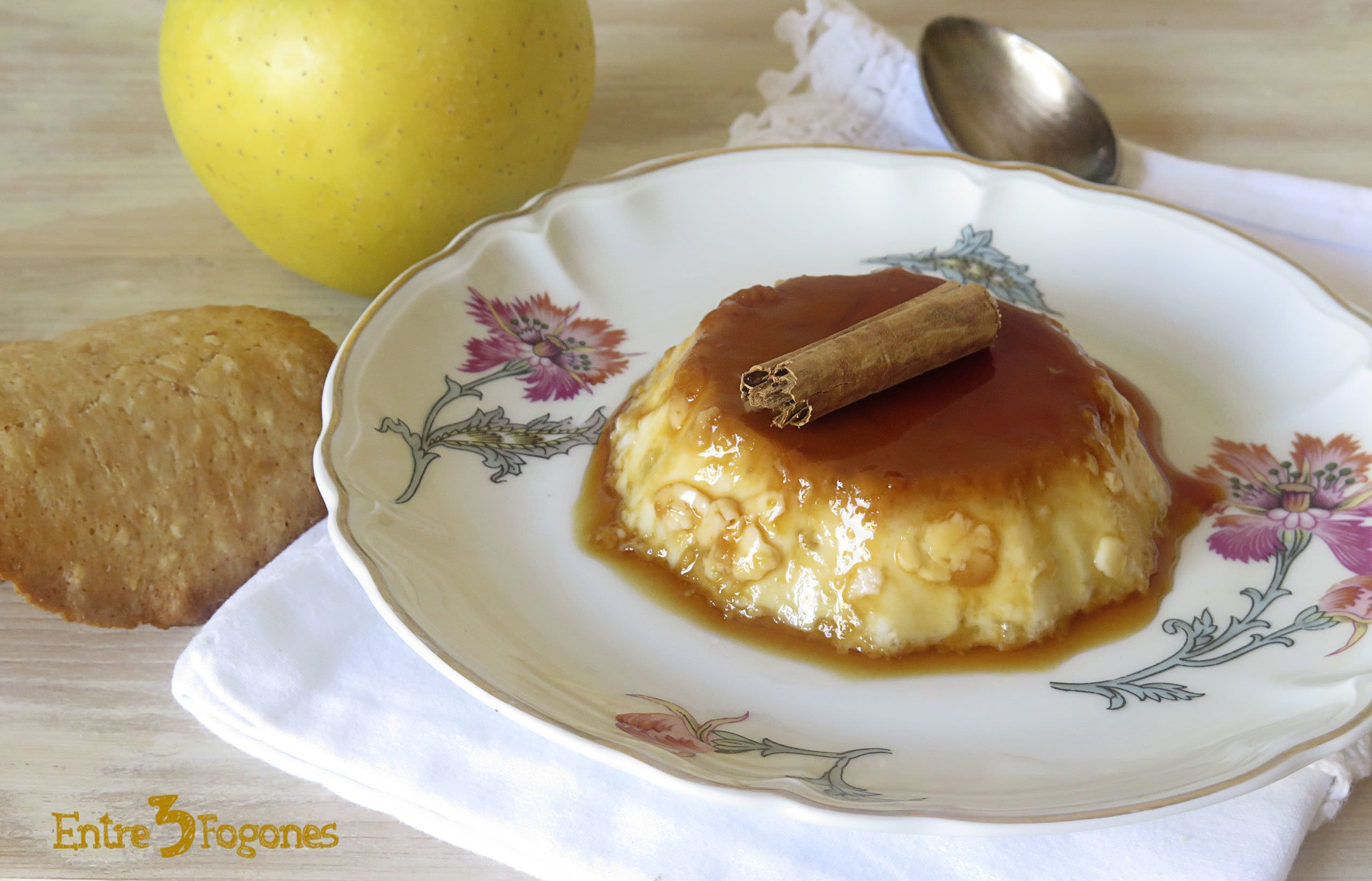 Photo of Flan de Manzana