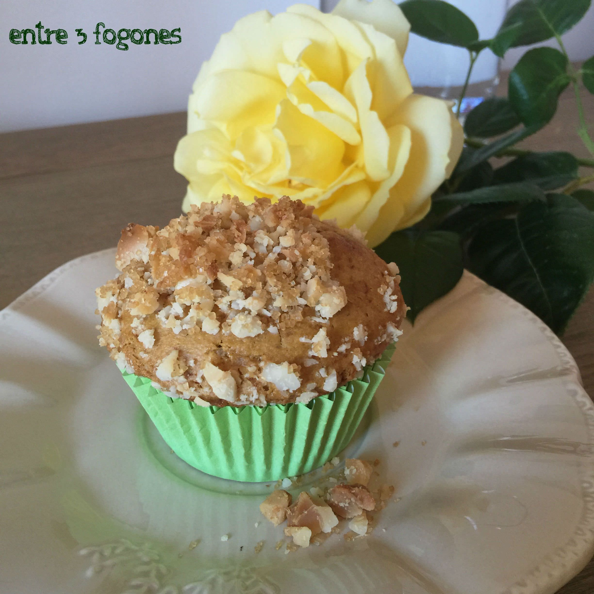 Photo of Muffins de Toffee con Topping de Nuez de Macadamia