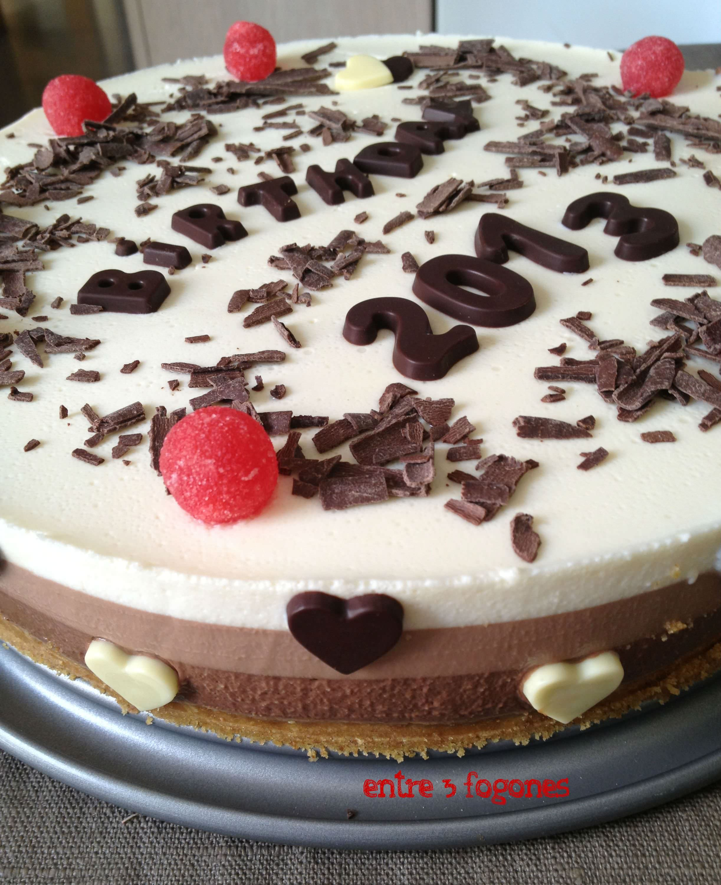 Photo of Cumplimos un Añito: Tarta a los Tres Chocolates