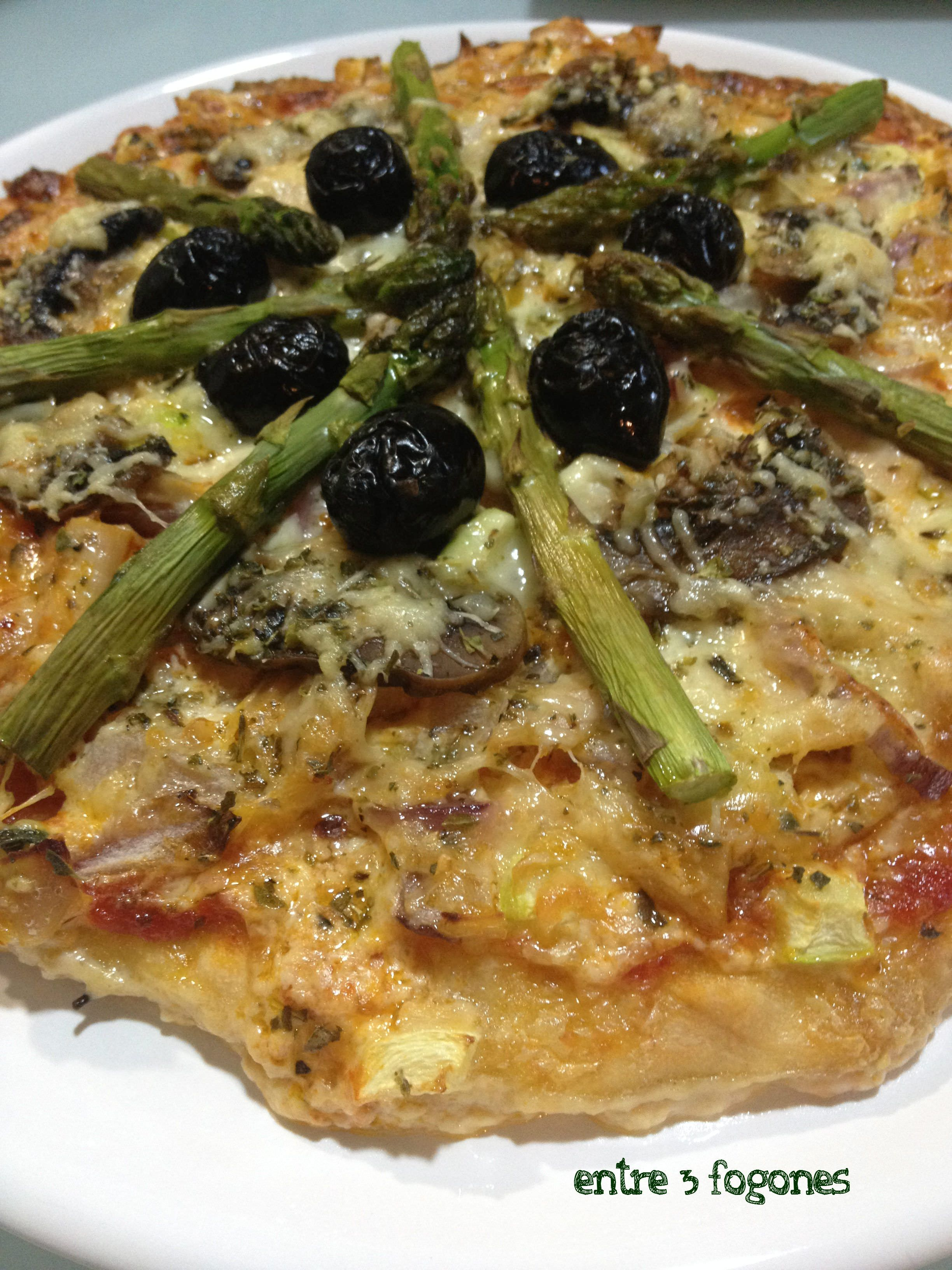 Photo of Pizza Esponjosa de Ventresca de Atún y Verduras