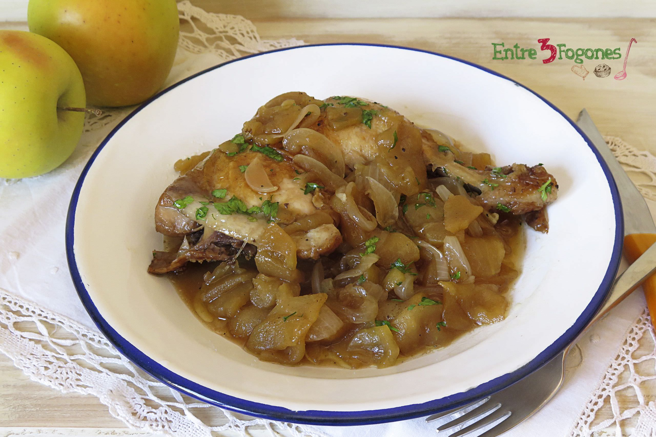 Photo of Pollo con Manzana al Jerez