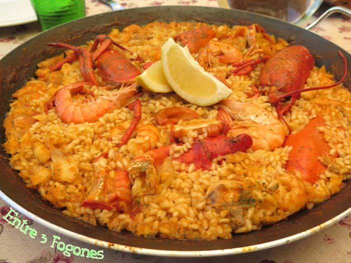 Photo of Arroz con Bogavante y Langostinos
