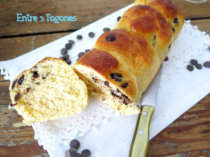 Photo of Brioche con Pepitas de Chocolate