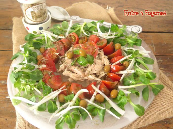 Photo of Ensalada de Perdiz en Escabeche con Tomate Raf