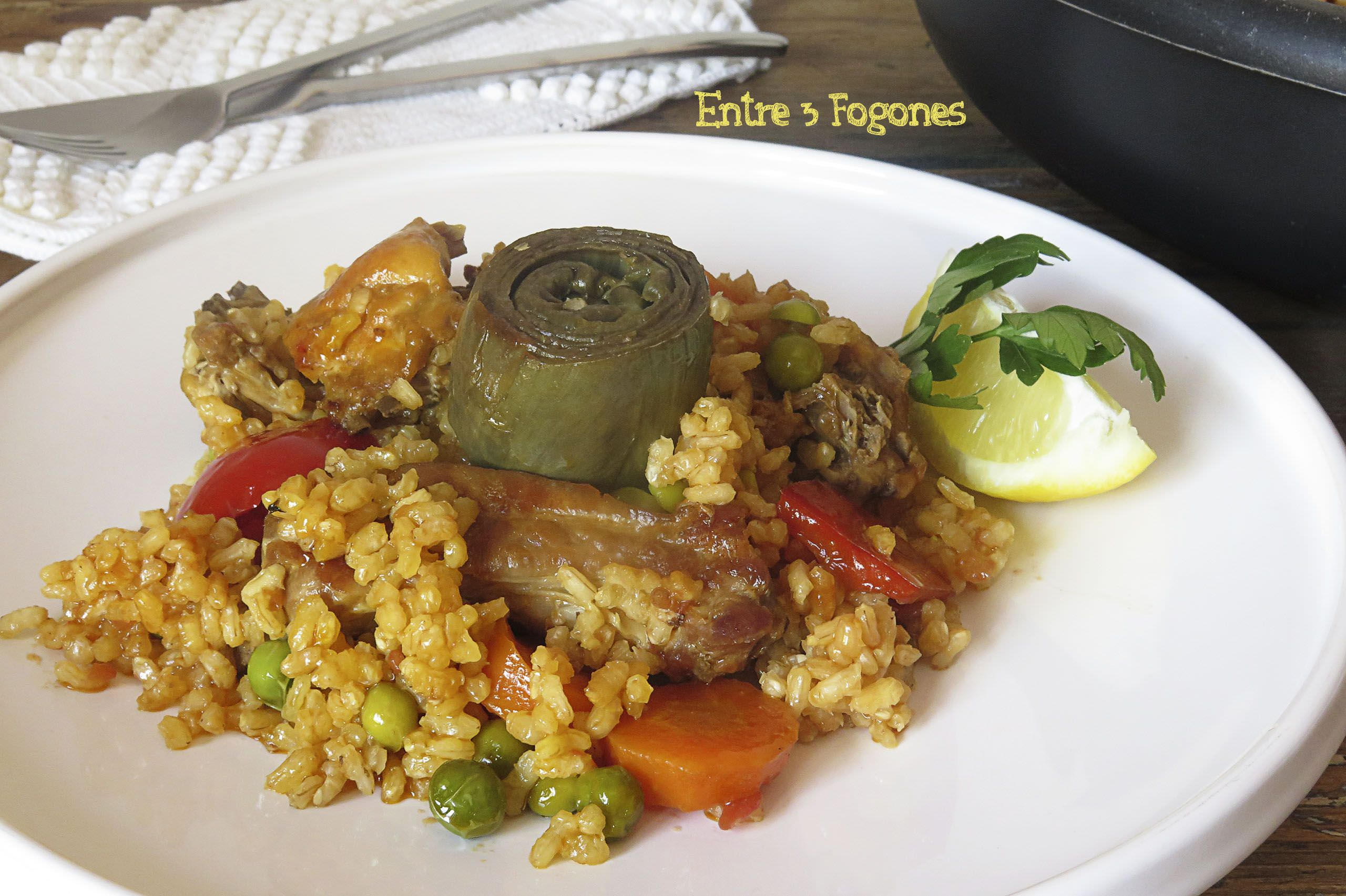 Photo of Arroz con Verduras y Costillas de Cerdo