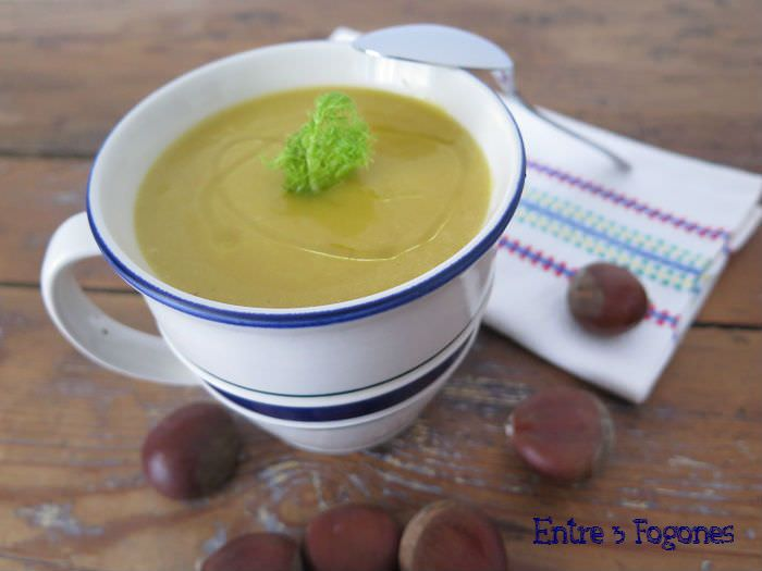 Photo of Crema de Calabaza con Castañas