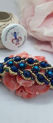 Bracelet bulles de précieux
