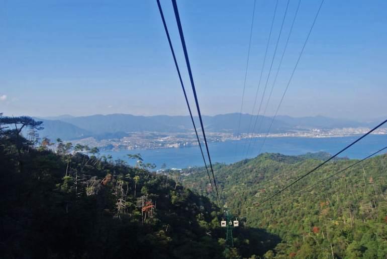 Vistas desde el Monte Misen