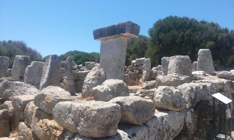 Ruinas prehistóricas en Menorca