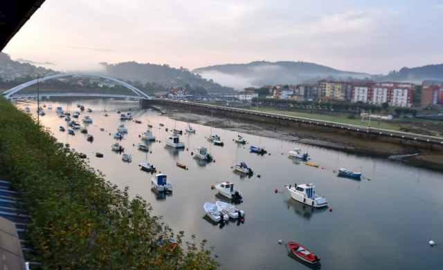 La ría de Plentzia y su puente