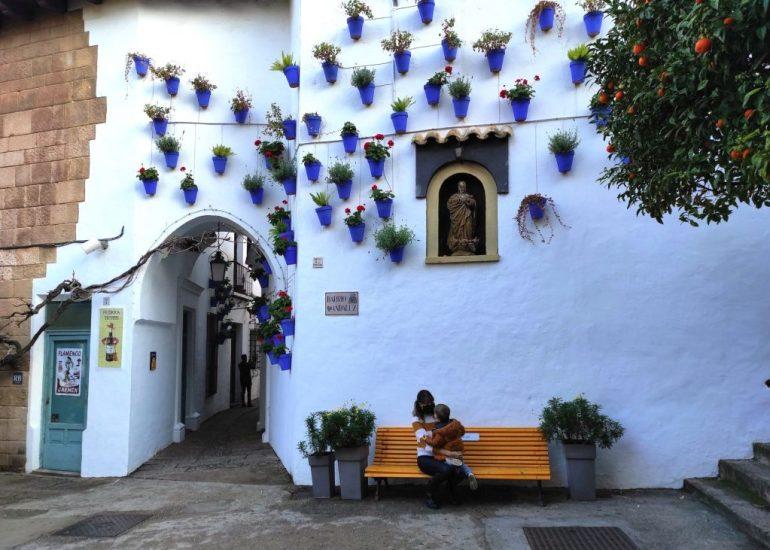 Barrio andaluz en el Poble Espanyol