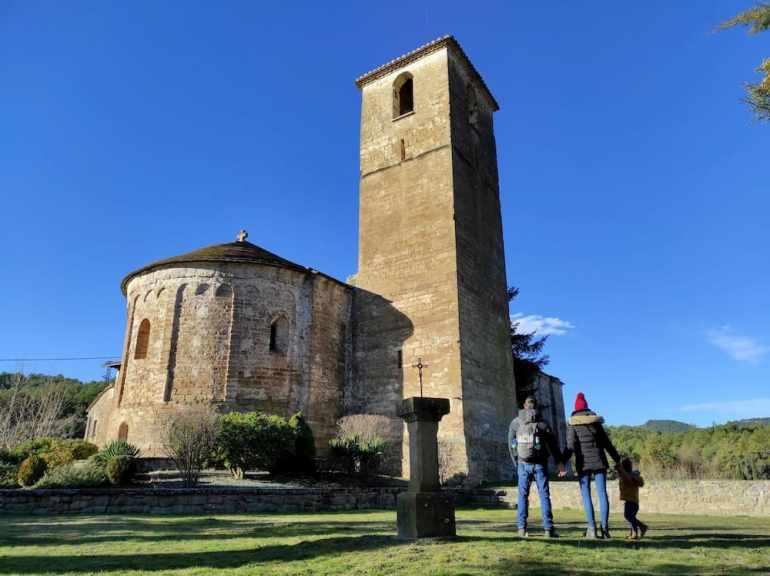 iglesia de Sant Esteve d'Olius