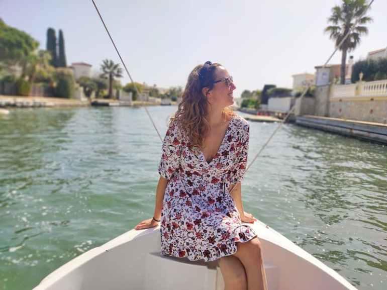 Paseo en barco en Empuriabrava