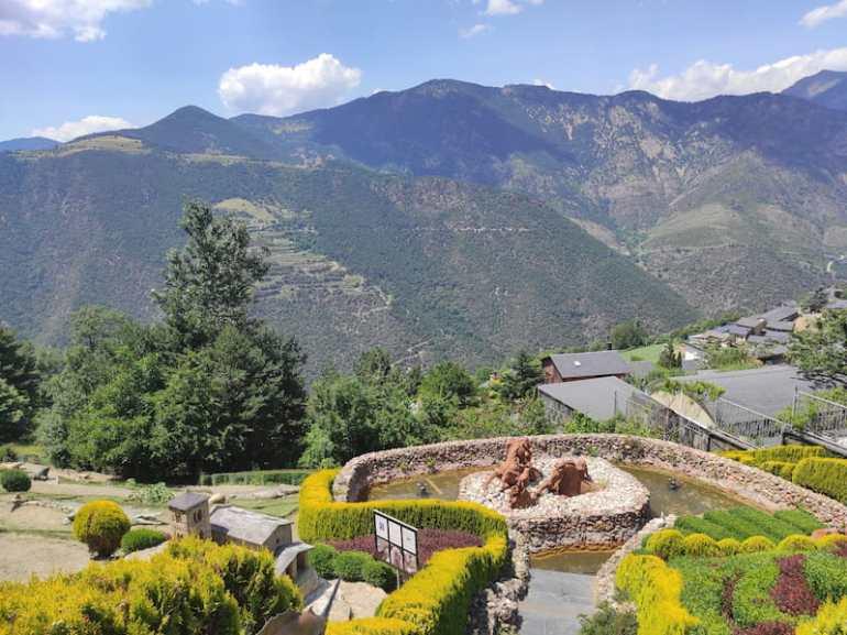 Vistas del Jardín de Juberri
