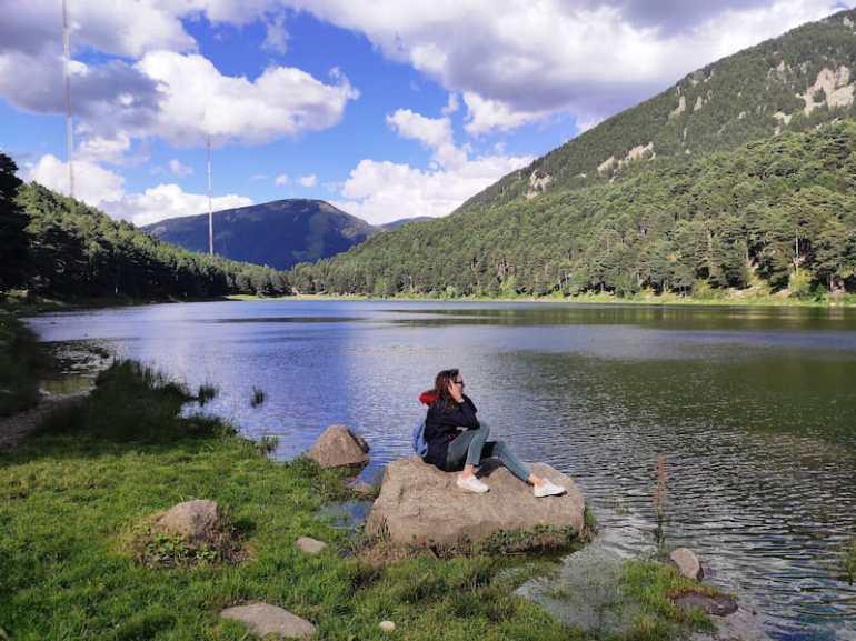 Lago de Engolasters en Andorra